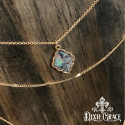 Necklace - Southern Lights in Gold