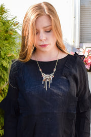 XXX - Necklace & Earrings Set - The Wanderer - Gold