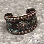 Bracelet - Copper Bluffs in Patina
