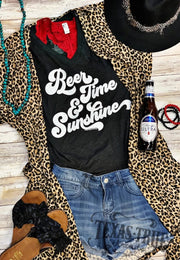 Beer Time & Sunshine - Graphic Tee