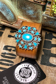 Dodge City - Leather Cuff Bracelet
