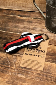 The Red - Lipstick/Lip Balm Holder - Red Stripe Flag