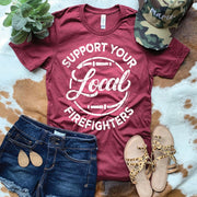 Support Local Firefighters - Graphic Tee