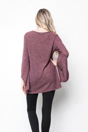 Got Rhythm - Top - Bell Sleeve Light Sweater