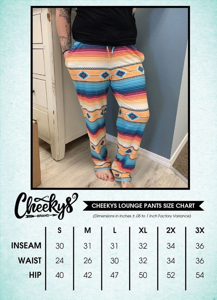 Harvest Serape - Lounge Pants