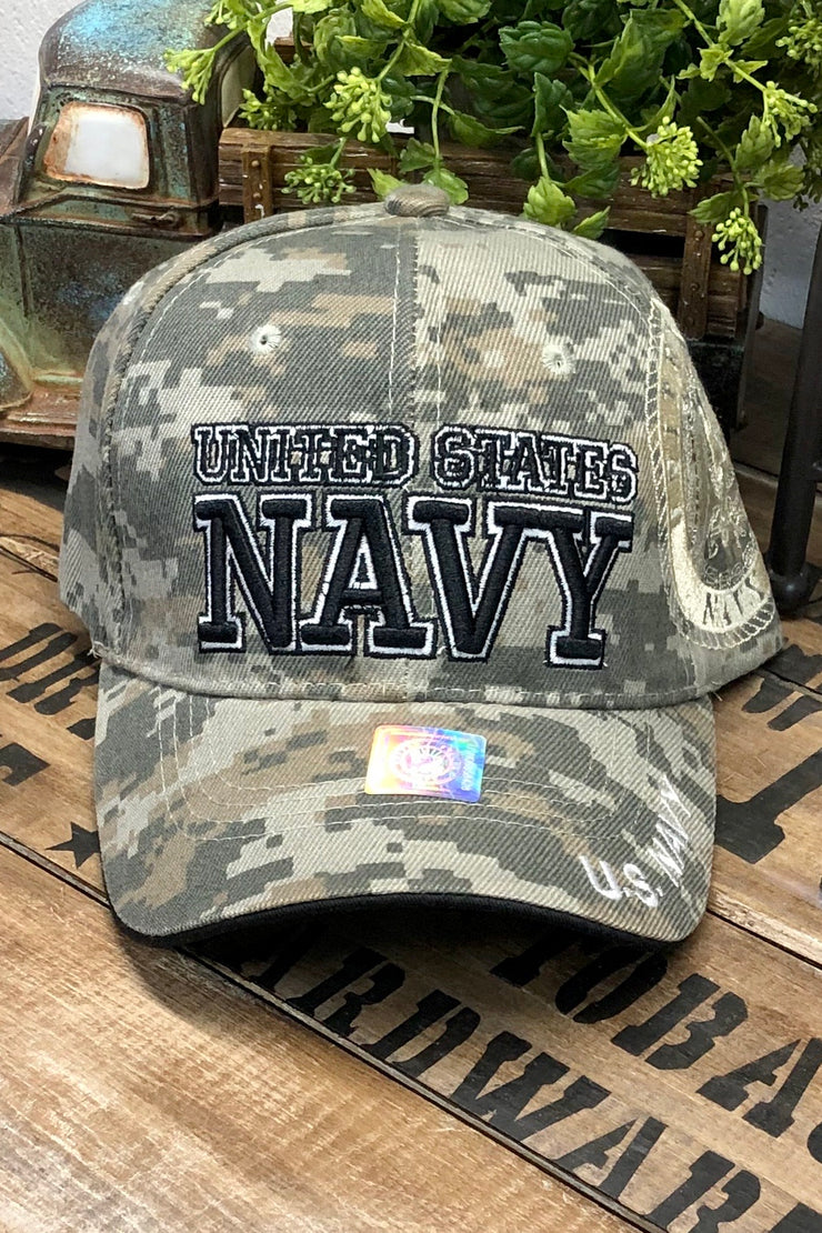 Hat - U.S. Navy - Digital Camo - $12 S4S Donation
