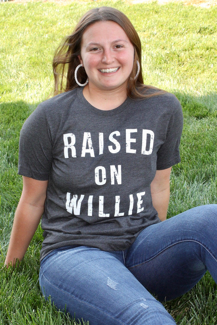Raised on Willie - Graphic Tee