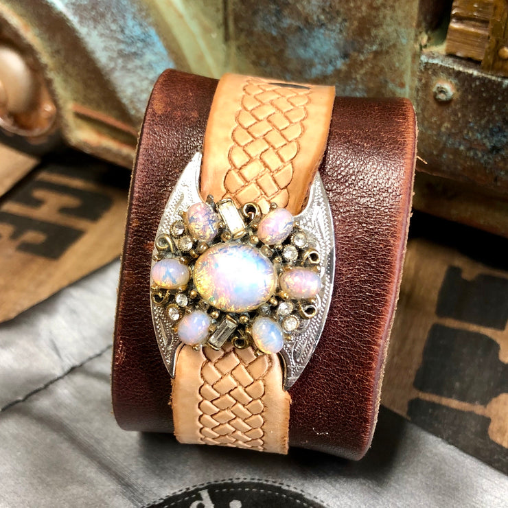 Heaven & Honey - Leather Cuff Bracelet