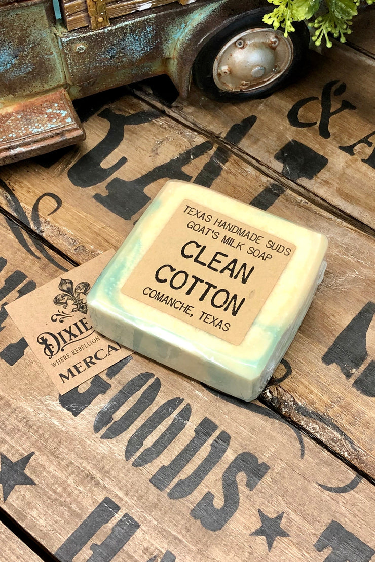 Clean Cotton - Goat's Milk Bar Soap
