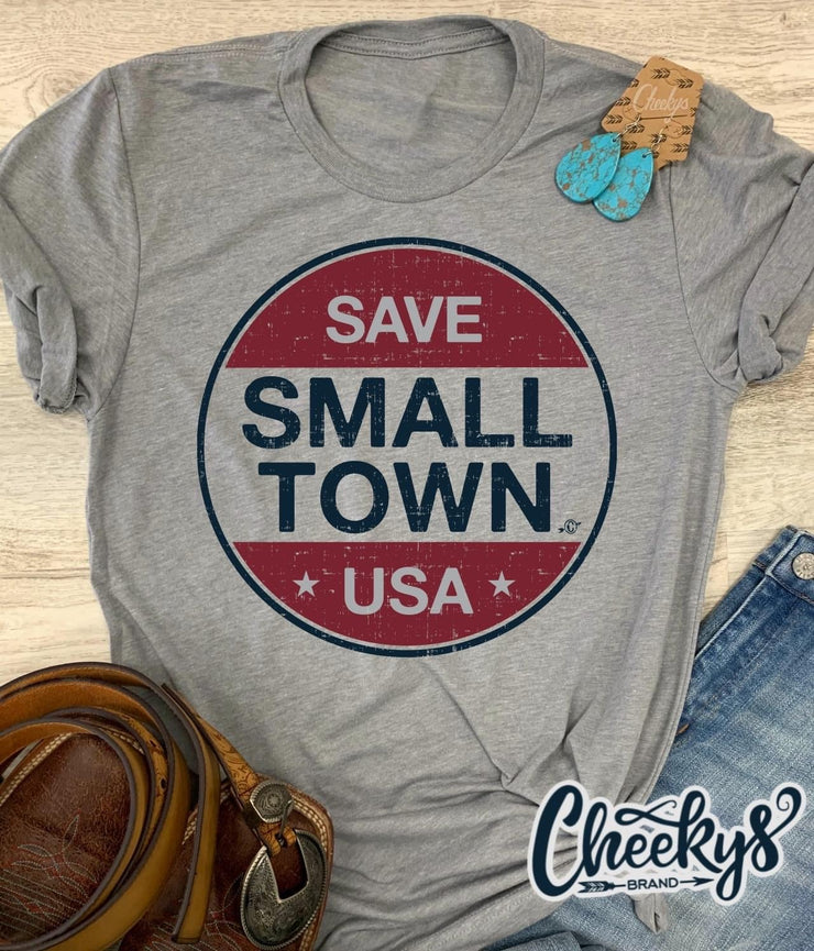 Save Small Town USA - Graphic Tee