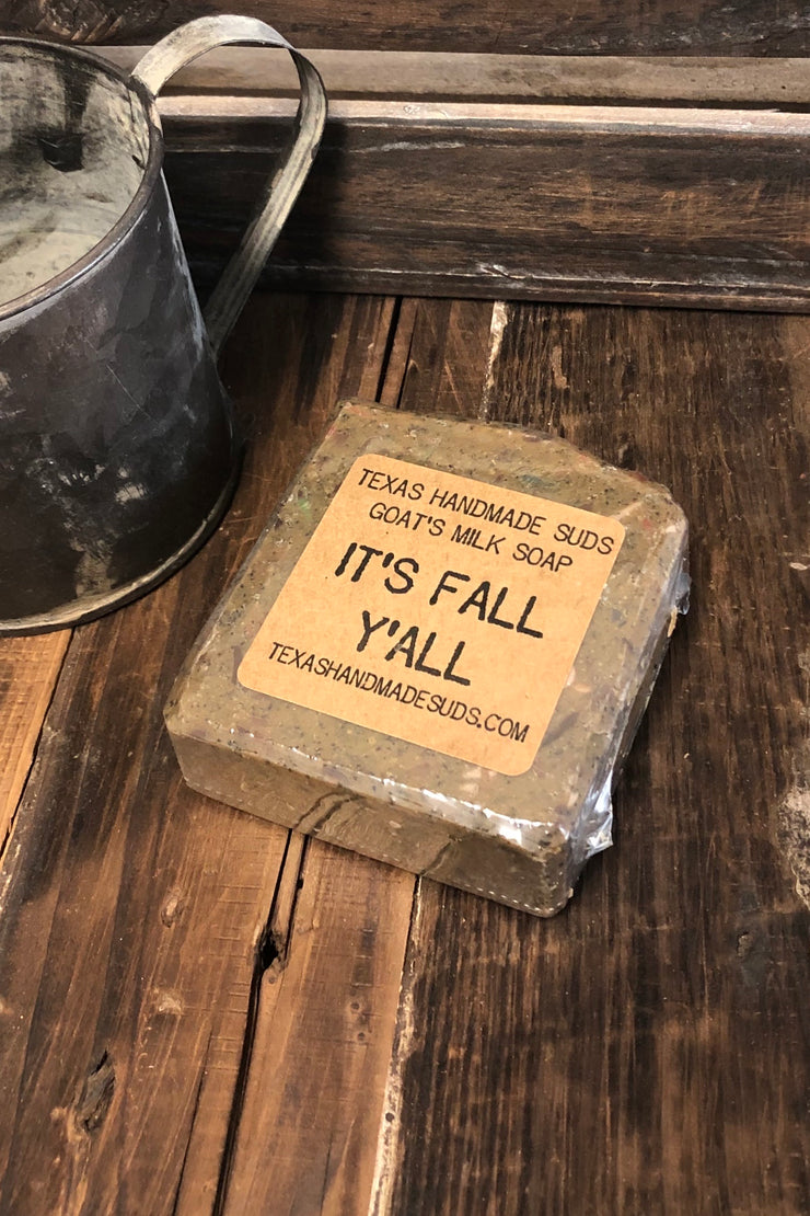 It's Fall Y'all - Goat's Milk Bar Soap