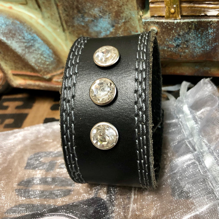 Tennessee Flat Top - Leather Cuff Bracelet