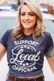 Support Local Officers - Graphic Tee
