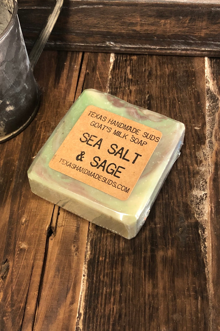 Sea Sage & Salt - Goat's Milk Bar Soap