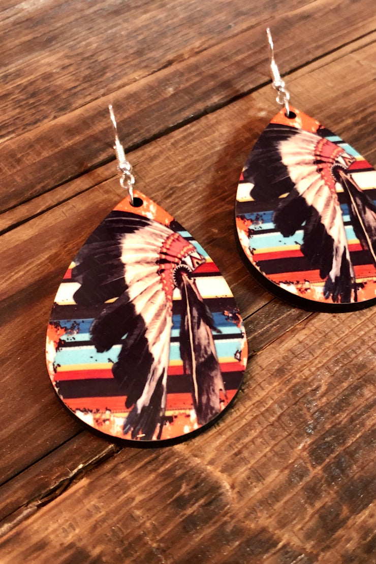 Earrings - Serape Headdress