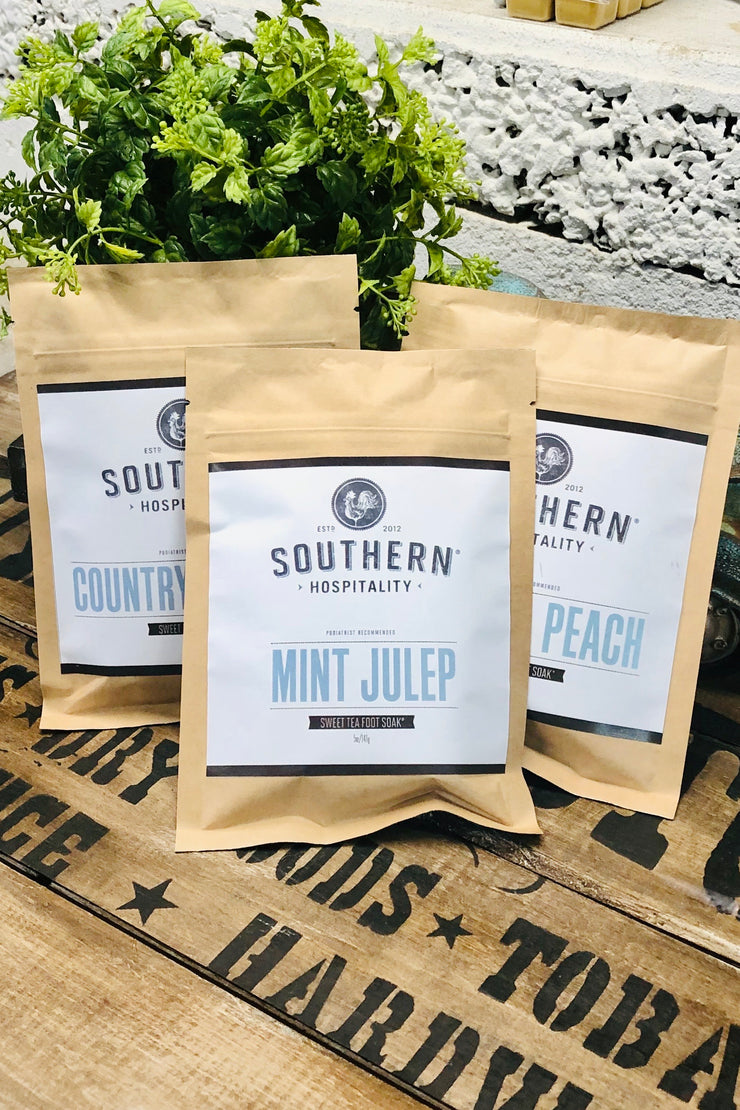 Sweet Tea Foot Soak - Multiple Scents