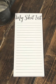 Notepad - My Shit List