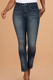 Tight Fittin' Jeans - High-Rise Skinny Jeans - Vintage Whisker Wash