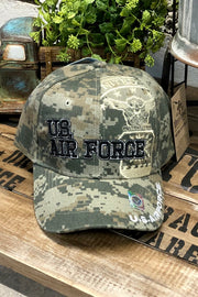 Hat - U.S. Air Force - Digital Camo - $12 S4S Donation