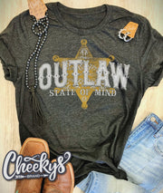 Outlaw State of Mind - Graphic Tee