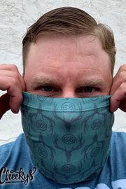 Face Shield - Sage Elk