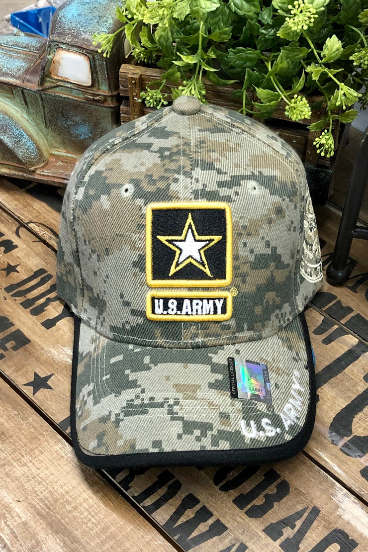 Hat - U.S. Army Patch - Digital Camo - $12 S4S Donation