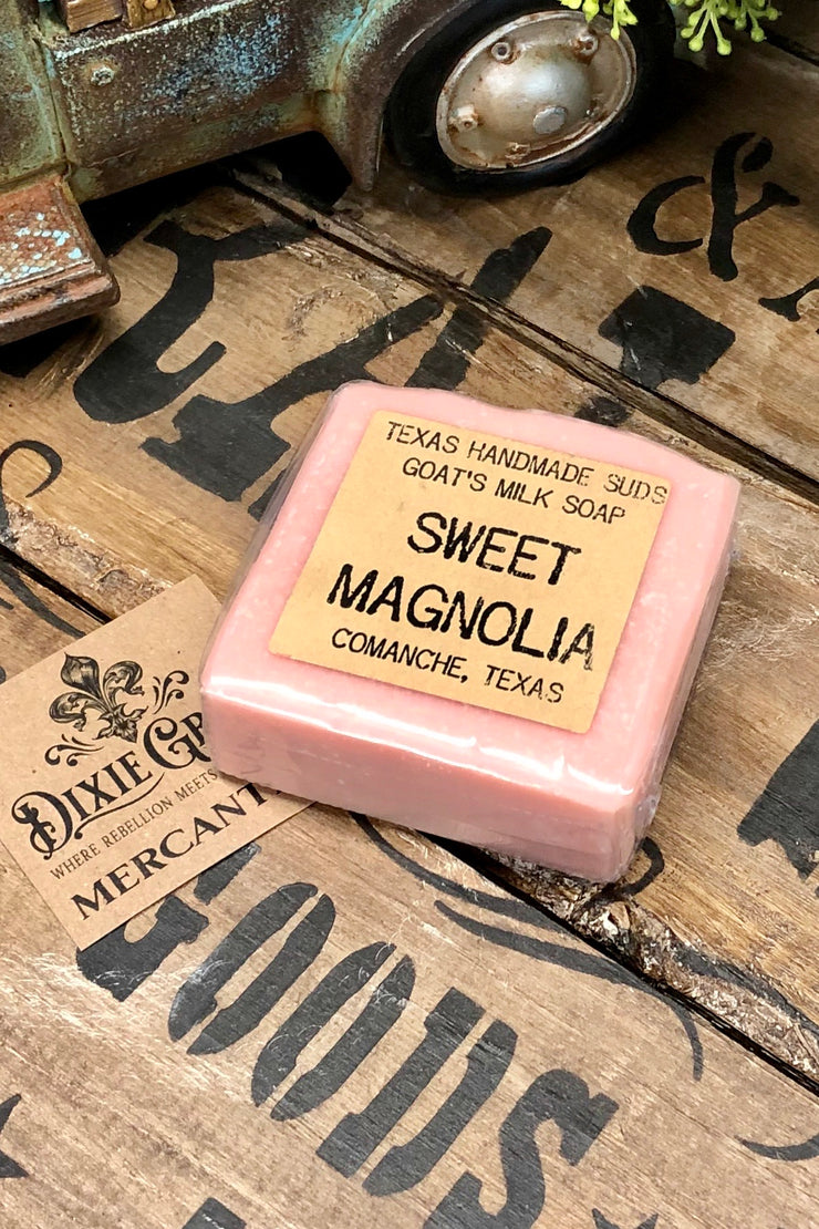 Sweet Magnolia - Goat's Milk Bar Soap