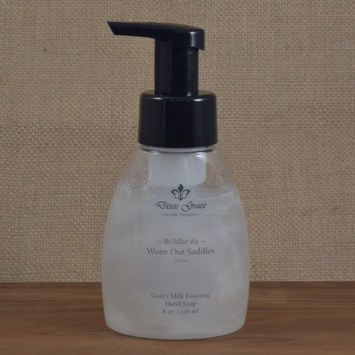 Worn Out Saddles - Foaming Hand Soap