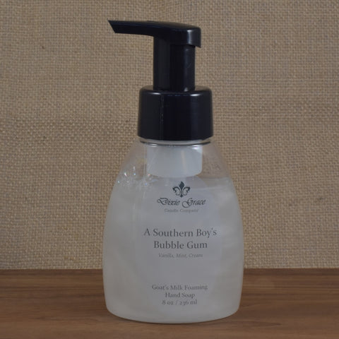 A Southern Boy's Bubble Gum - Foaming Hand Soap