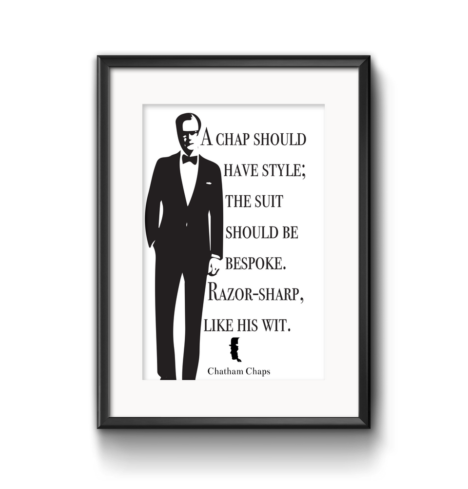 A Chap should have style.