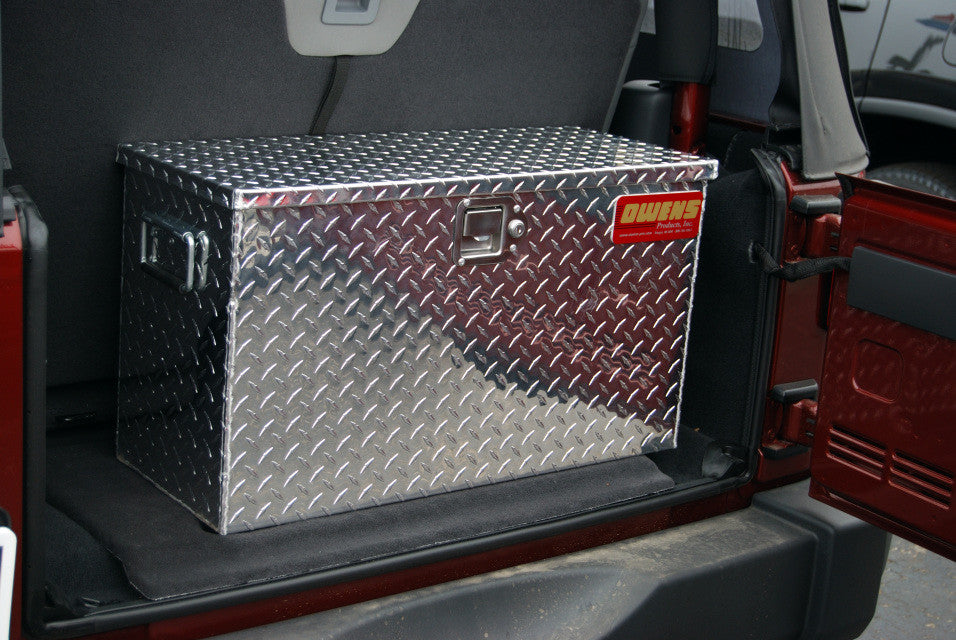 Jeep Wrangler Tool Box Jk 2 Door Owens Products