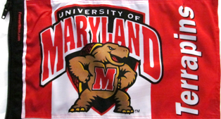 Maryland Terrapins Flag