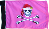 Pink Pirate Flag