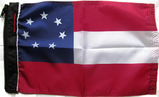 1st Confederate 7 Star Flag
