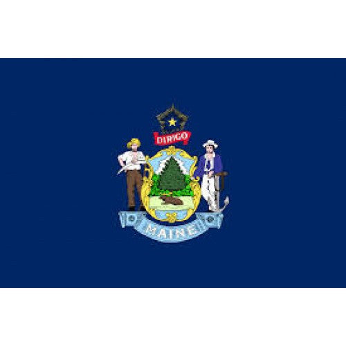 State Flag Maine