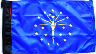 State Flag Indiana
