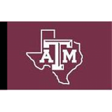 Texas A&M Outline Flag