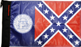 State Flag Georgia Old Style