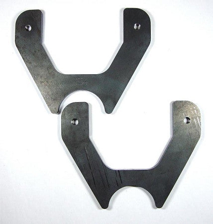 "3.5"" Axle Weld On Disc Brake Bracket Pair"