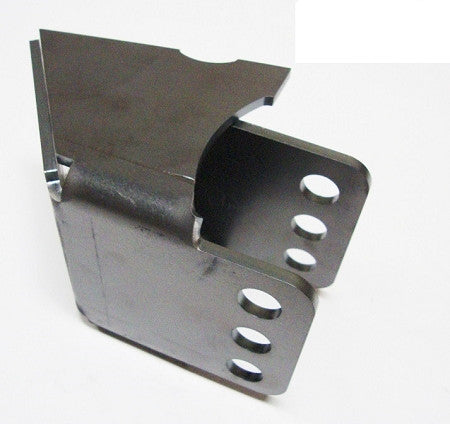 "Adjustable Inner Frame Link Mount Bracket 0 Degree - 9/16"" Bolt Hole"