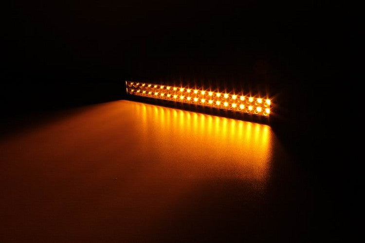 "20"" Amber/White LED Light Bar 120W"