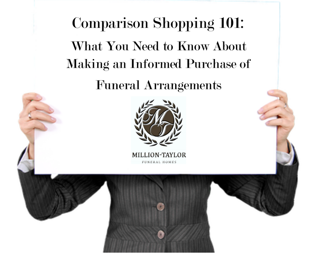 "Comparison Shopping 101 - Comparing ""Apples to Oranges"" in the Funeral Service Industry with Pricing"