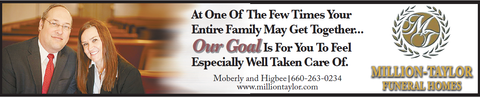 Million Taylor Moberly Missouri Funeral Homes Funeral Cremation Services