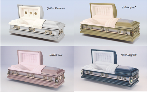 Casket Package - Golden Package