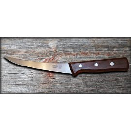 "6"" Victorinox: Rosewood handle flex blade boning knife"