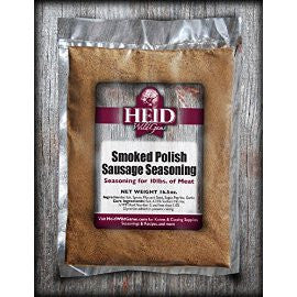 Smoked Polish Sausage Seasoning Kit (25 lb batch)