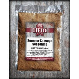 Summer Sausage Seasoning (25 lb batch with casings)
