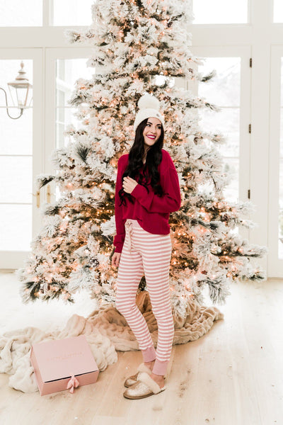 Feminine and Classic RP Christmas Pajamas...
