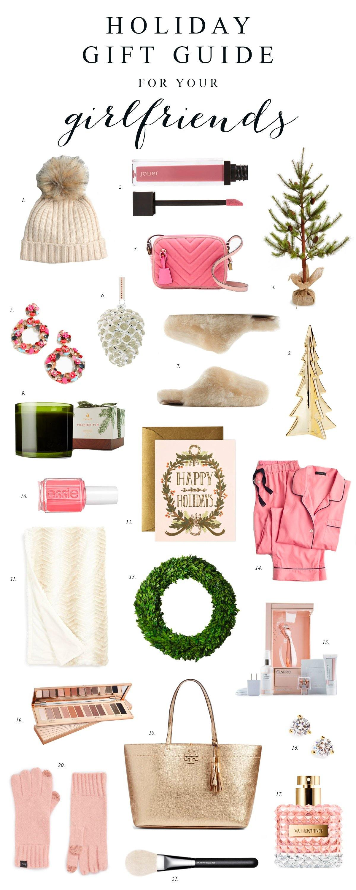 Gift Guide: For Your Girlfriends...
