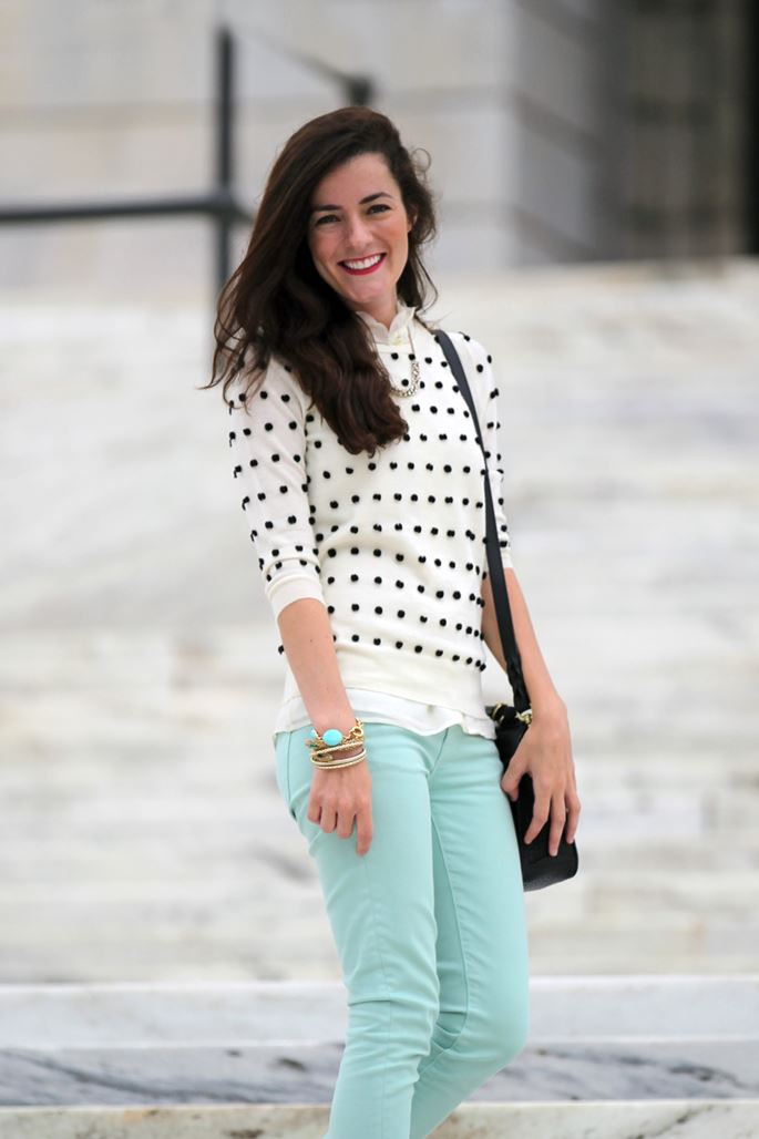 Her Go-To Day Look: Classy Girls Wear Pearls...